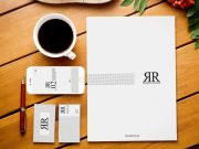 Minimal Corporate Stationery & Coffee PSD Mockup