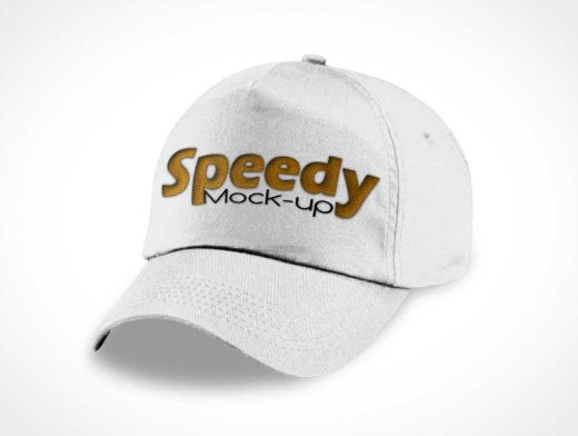 Solo Baseball Cap PSD Mockup