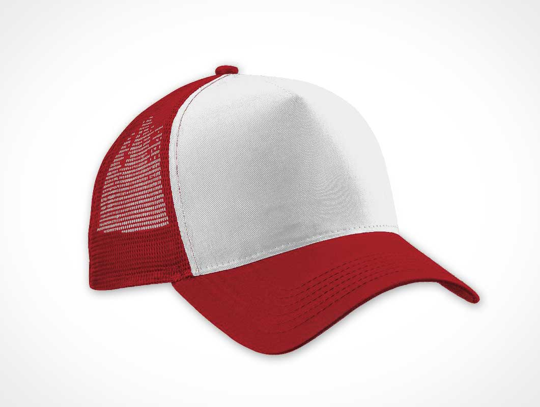Trucker Cap Apparel PSD Template