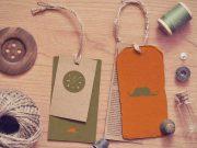 Vintage Tag Label PSD Mockup