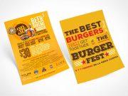 3 Premium Brochure Flyer Leaflets PSD Mockups