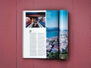 3 Quality Magazine Product Shots PSD Mockup