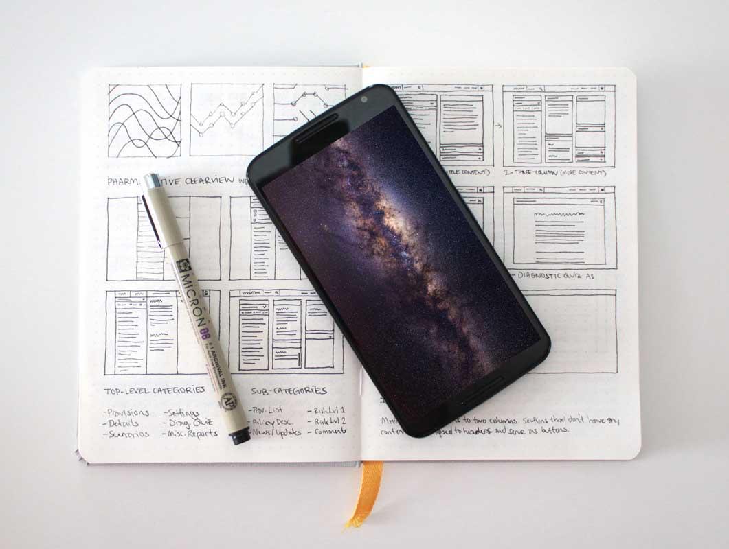 8 Nexus 6 Photorealistic PSD Mockups
