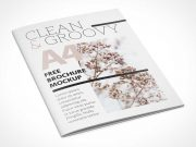 A4 Brochure Leaflet / Catalog PSD Mockup