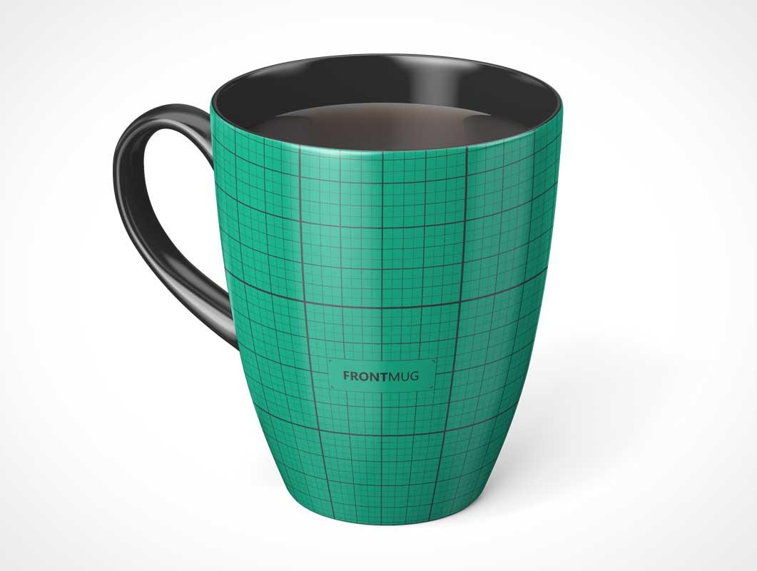 Ceramic Marrow Mug PSD Mockup