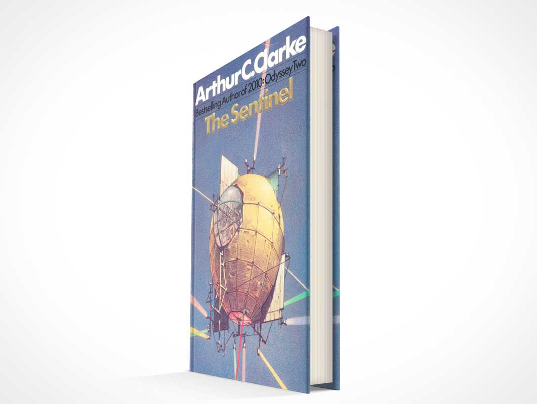 Hardbound Fiction Or Fantasy Book PSD Mockup
