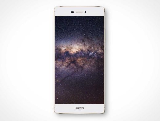 Huawei P8 Lite Android Smartphone PSD Mockup