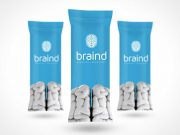 Ice Cream Candy Bar Packaging PSD Mockup