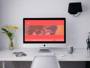 iMac Apple Product Family PSD Mockup