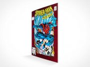 Comic Book & Graphic Novel Front Cover PSD Mockup