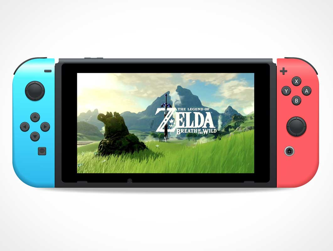 Nintendo Switch Vector Mockup