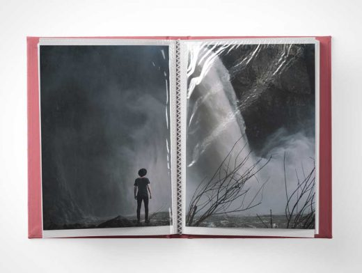 Photo Album & Plasticized Picture Sleeves PSD Mockup