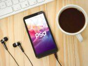 Smartphone Scene For Music Apps PSD Mockup