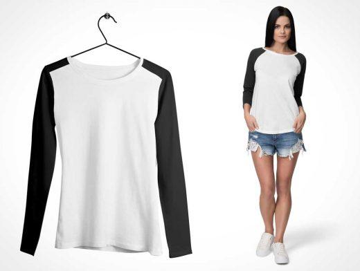 5 Apparel Mixable T-Shirt & Model Scenes PSD Mockup