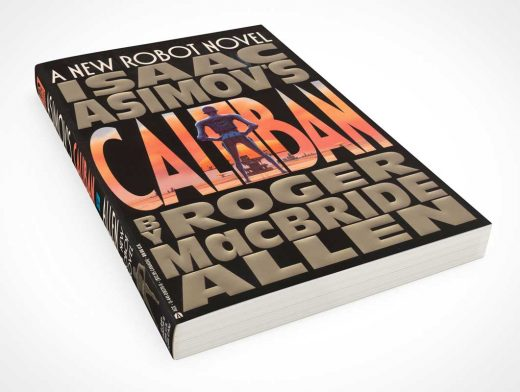 C-Format Paperback Front Cover Book PSD Mockup