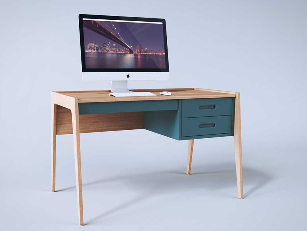 Workstation iMac Studio Setup PSD Mockup