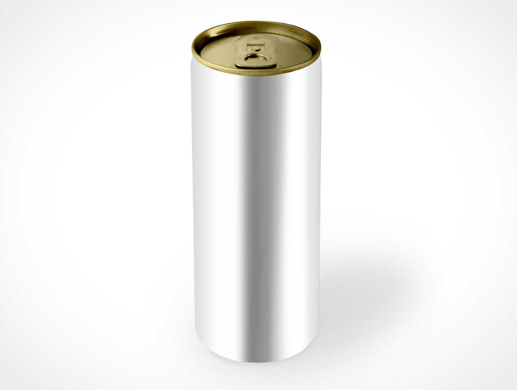 Energy Soda Can PSD Mockup