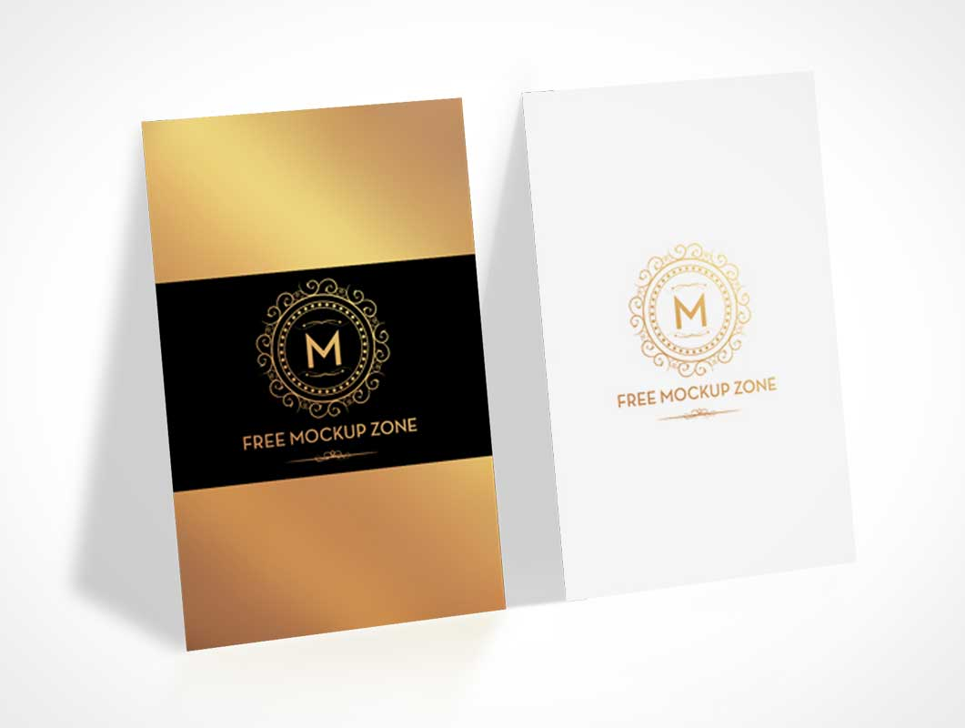 Portrait mode business cards front back presentation psd mockup portrait mode business cards front back presentation psd mockup colourmoves