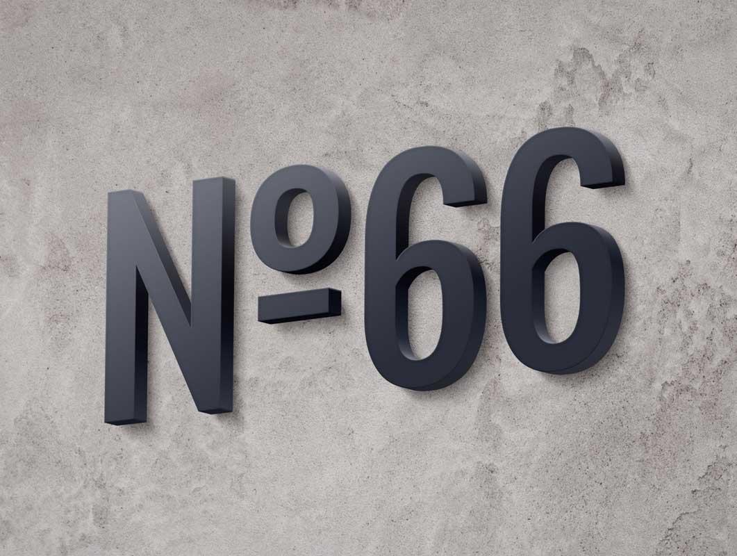 Storefront Mall 3D Wall Logo PSD Mockup