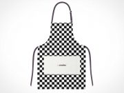 Artist's Smock-Frock or Cook's Apron PSD Mockup