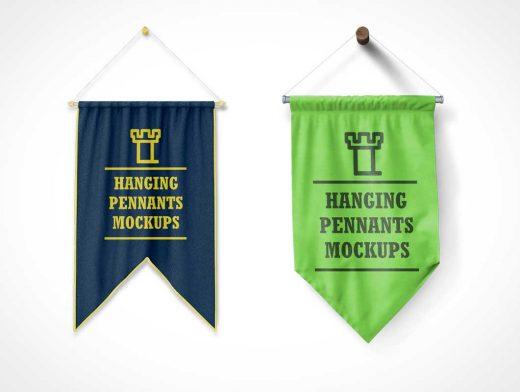 Championship Banner or School Flag PSD Mockup