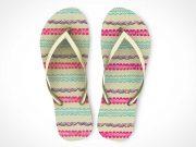 Slippers Flip-Flop Footwear PSD Mockups