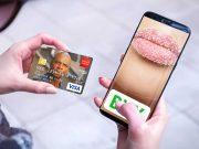 Mobile Smartphone Online Purchase Transaction PSD Mockup
