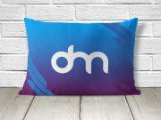 Rectangular Pillow & Case PSD Mockup