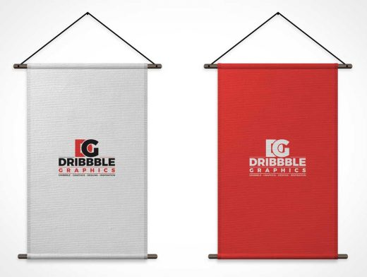 Trade Exhibition Stand Mockup Free Download : Vertical fabric banner flags psd mockup mockups