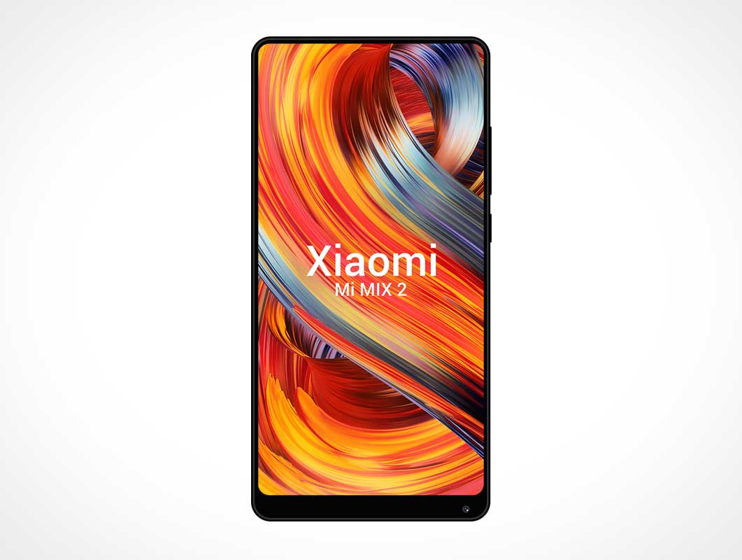 Xiaomi Mobile Android Smartphone PSD Mockup