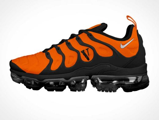 Nike Air Max Running Shoe Branding Template PSD Mockup
