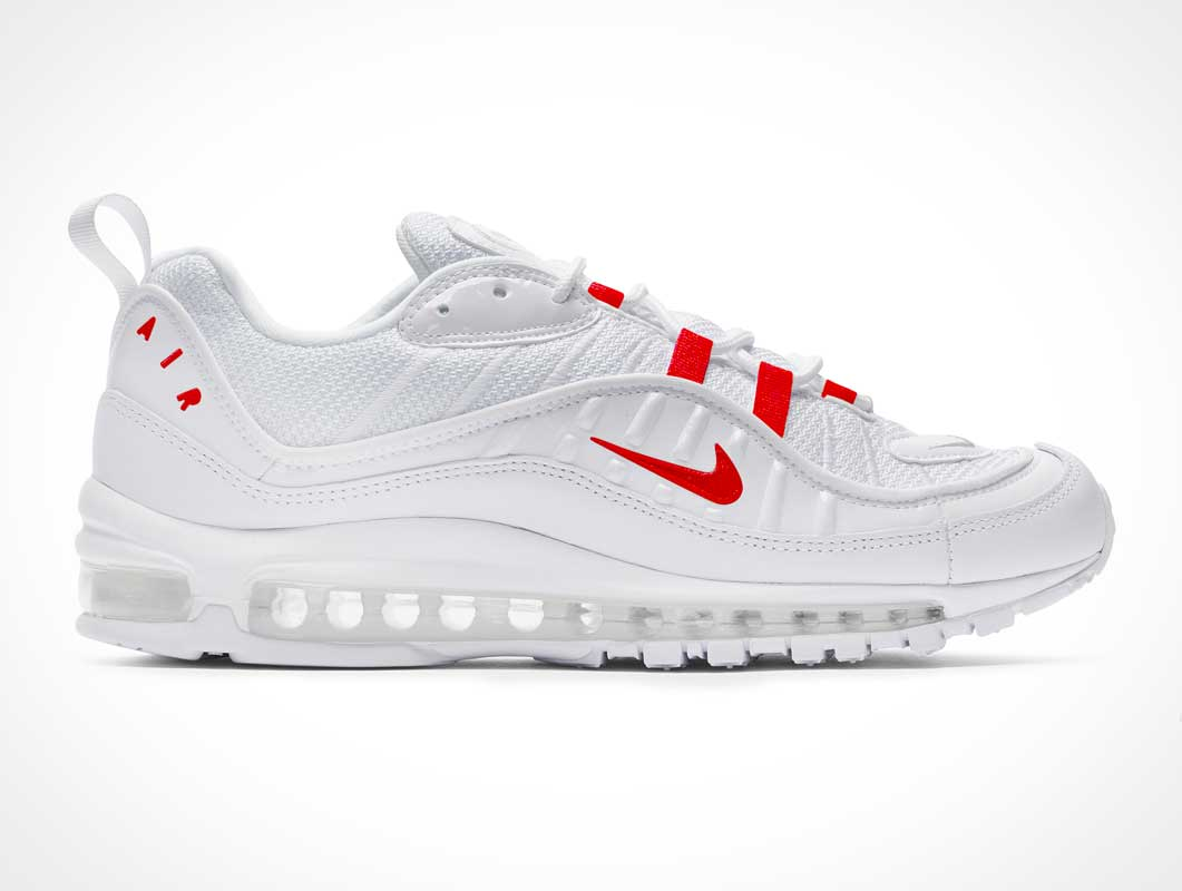 Nike Air Max 98 Sports Footwear PSD Mockup