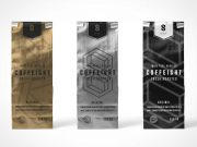 Sealed Foil Grounds Pouch PSD Mockup