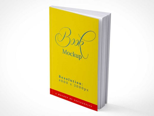 Softcover Paperback Publication PSD Mockup