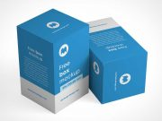 Product Box Packaging PSD Mockup