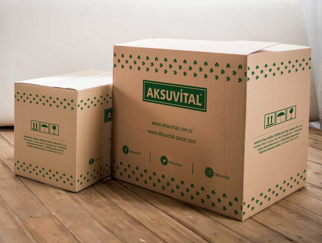 Cardboard Package Delivery Box PSD Mockup
