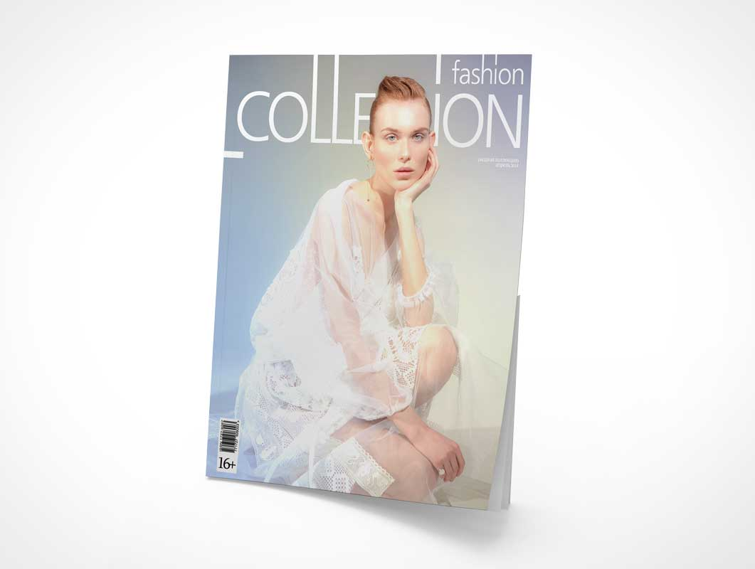 Publication Magazine Cover PSD Mockup