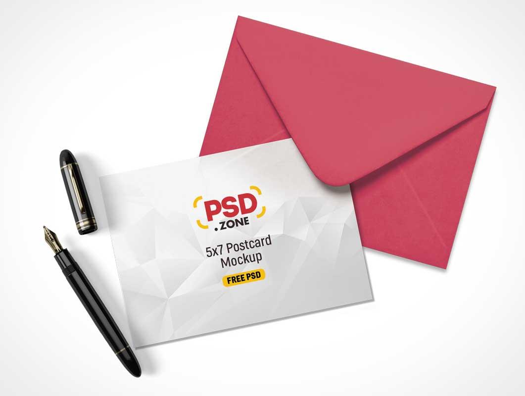 Letter Psd Mockups