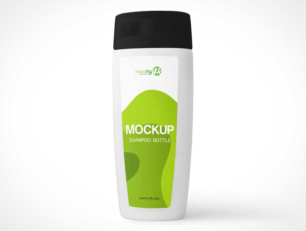 Bottle Shampoo & Conditioner PSD Mockup