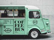Citroen Food Truck Service PSD Mockup