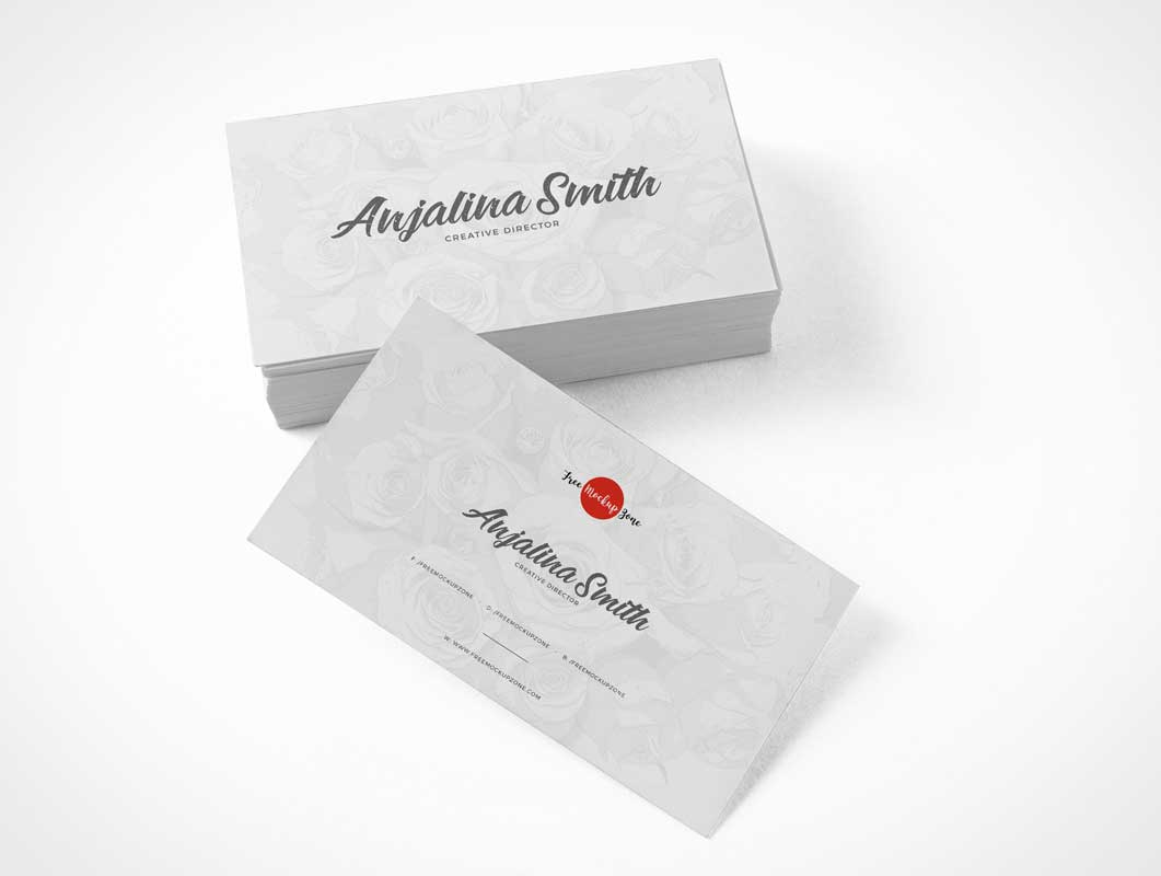 Corporate Business Card Branding Presentation PSD Mockup