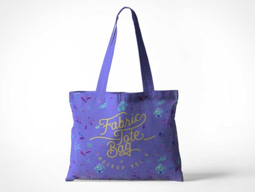 Enviro-Friendly Tote Bag PSD Mockup