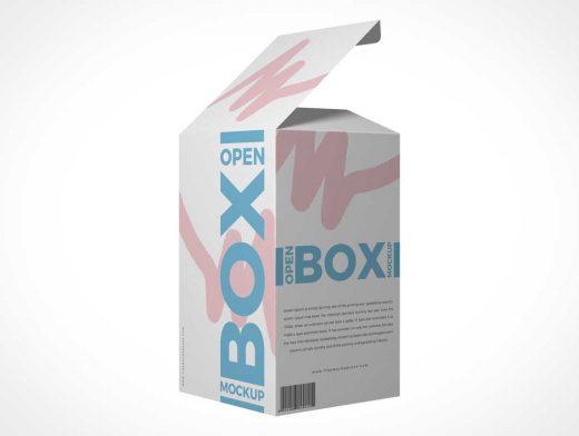 Medicinal & Cosmetic Box Packaging PSD Mockup