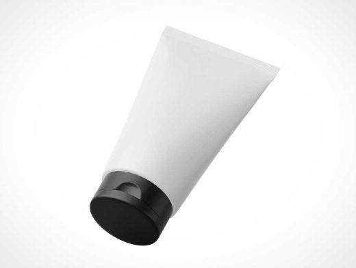 Cosmetics Cream Squeeze Tube PSD Mockup
