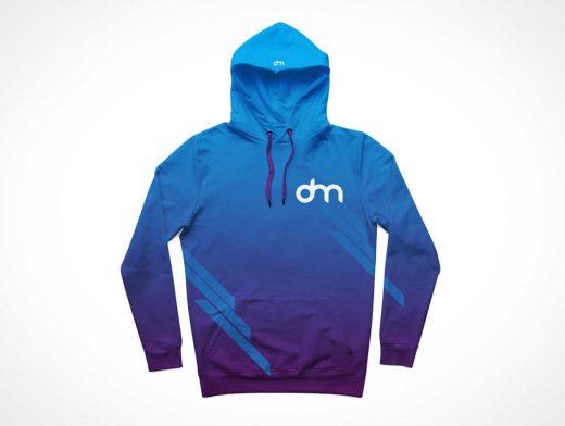Hoodie Sweatshirt Clothing PSD Mockup