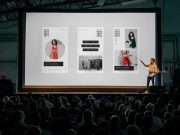 Product Announcement Presentation Event PSD Mockup