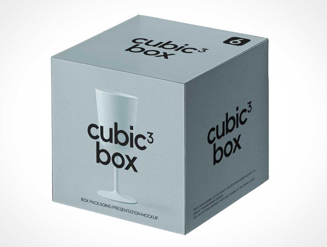 Box - PSD Mockups