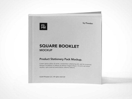 Paperback Book Product Manual PSD Mockup