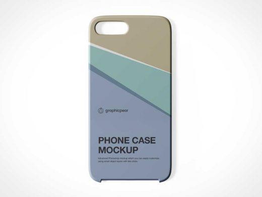 iPhone Case & Camera Notch PSD Mockup