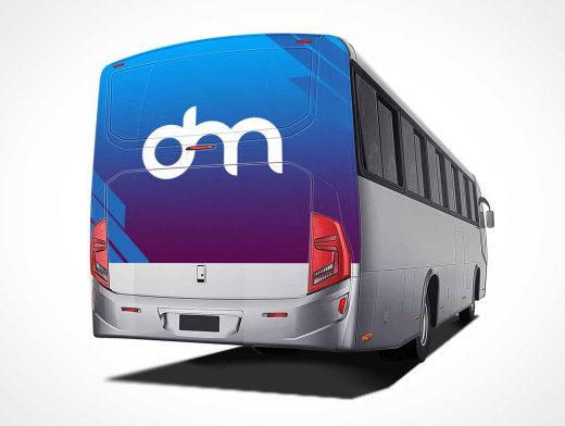 Event Tour Bus PSD Mockup